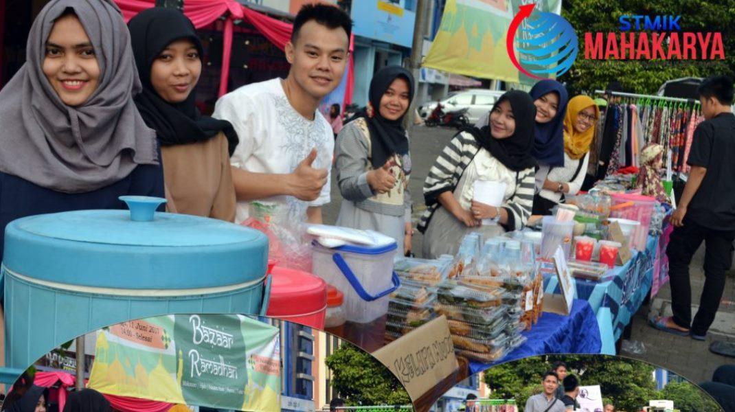 Mahasiswa STMIK Mahakarya Mengadakan Bazar