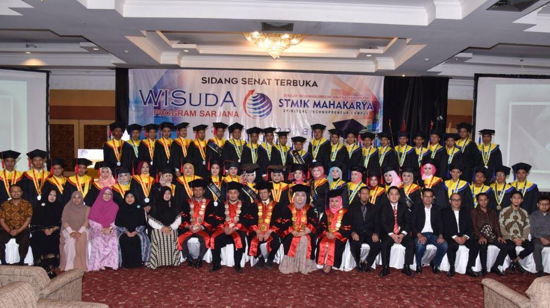 Wisuda III STMIK Mahakarya TA 2017/2018